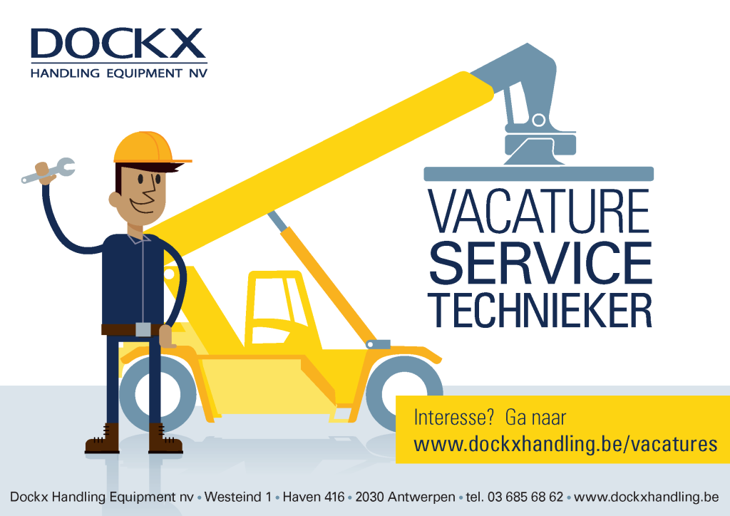 Dockx Handling - service technieker
